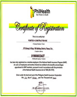 Philhealth Certification