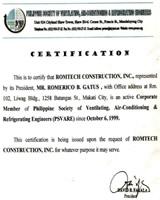 PSVARE Certification