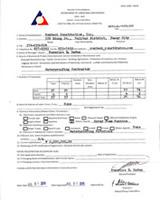 DOLE Certificate
