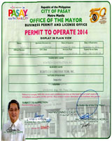 Mayor's Permit