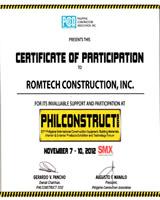 Philconstruct 2012